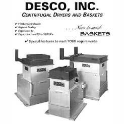 DESCO Centrifugal Dryers